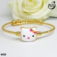 Gelang Bangkok Anak Xuping Fleksibel - Perhiasan Lapis Emas 18K - N029