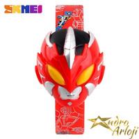 Jam Tangan Anak SKMEI 1239 Power Ranger Red Original | Ultraman