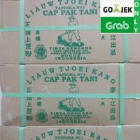Sagu Cap Pak Tani Liauw Tjoei Kang / Tepung Tapioka 1 KARTON 25 KG