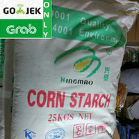tepung maizena / corn starch / pati jagung xing mao lihua eks china