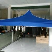 tenda cafe lipat 3x3 tenda matic tenda bazar piramid kerucut