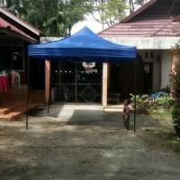 tenda cafe lipat 2x2 tenda matic tenda bazar piramid kerucut
