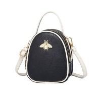 tas tote wanita jinjing hitam handbag selempang wanita kulit pu