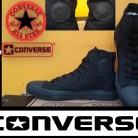 Barang Branded Harga Nyungsep Sepatu Converse All Star High Full Black
