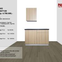 Lemari Dapur Fungsional PG-02 : D60/60+60/T120