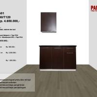 Lemari Dapur Fungsional PG01 : D60/80+40/T120