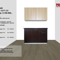 Lemari Dapur Fungsional PG-05 : D120/80+40/T120