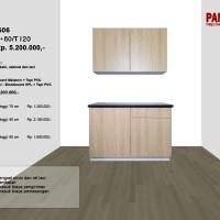 Lemari Dapur Fungsional PG-06 : D120/60+60/T120