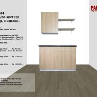 Lemari Dapur Fungsional PG-04 : D60+60a/60+60/T120