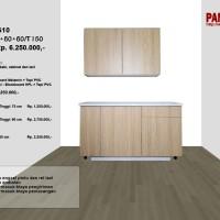 Lemari Dapur Fungsional PG-10 : D120/30+60+60/T150