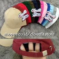 Hot Promo Topi Baseball Premium Polos Pengait Gesper   Tumblr Cap 61360e372c
