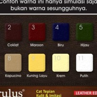 Cat Tepian Pinggiran Kulit & Imitasi Leather Paint Edge Leather