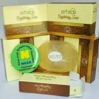ERHSALI BRIGHTENING SOAP / SABUN PENCERAH WAJAH / AGEN NASA