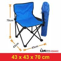 Kursi Lipat Outdoor Import/ Kursi Camping/ Kursi Mancing KS840C
