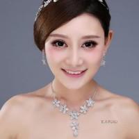 Aksesoris Kalung Pesta Pengantin Wanita l Perhiasan Wedding - KAP010
