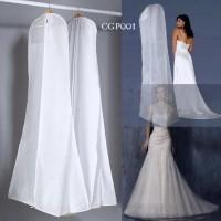 Harga cover pelindung gaun pesta pengantin l penyimpanan baju dress cgp   antitipu.com