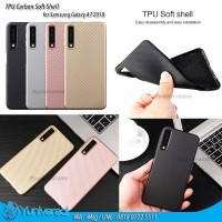 TPU Carbon Soft Shell Galaxy A7 2018 Samsung Ultrathin Fit Case