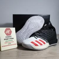 Sepatu Basket Adidas Harden Vol.2 Black White Red Premium Termurah