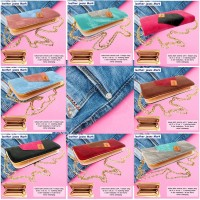 Dompet Kartu Leather jeans Mark