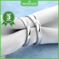 Promo Cincin Kawin White Gold Eternity Ring