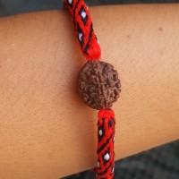 Gelang Tridatu Rudraksha mukhi 6 #gelang khas Bali berkah pica oton