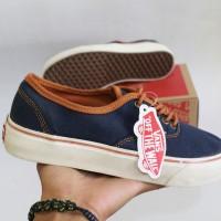!!PROMO sepatu sneaker wanita sepatu vans autentik navy putih