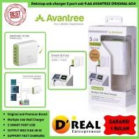 power trek, desktop USB charger 5port usb 9,6A AVANTREE ORIGINAL 604