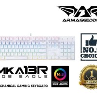 MKA-13R & Raven III RGB Gaming Keyboard Mouse Free Assault AS-33H