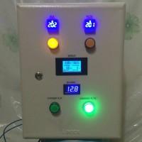 Panel Kontrol ATS PLN Inverter dgn Dual Voltage Comparator