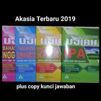 Buku pemantapan Unbk smp 2019 akasia