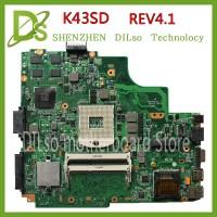 KEFU K43SD laptop motherboard ASUS K43SD K43E A43E mianboard original