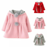 Jaket Kelinci Anak Musim Dingin/Winter Autumn Jacket Coat Bunny Kids
