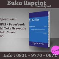 CFA 2019 Schweser - Level 3 SchweserNotes Book 5(Buku Import/ Reprint)