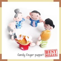 Edufuntoys - FAMILY Finger PUPPET  Boneka Jari Tangan Keluarga  bfd580f22b