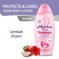 Marina Hand and Body Lotion Natural [350 mL] - Protects and Cares