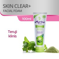Marina Facial Foam [100 mL] - Natural Skin Clear