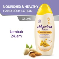 Marina Hand and Body Lotion Natural [350 mL] - Nourish and Healthy