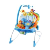Pliko PK-309 Lullaby Rocking Chair Safari Star / Kursi Goyang Bayi