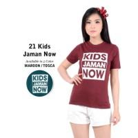Belle Fashion Baju Kaos T-Shirt Murah Wanita Tuton Kids Jaman Now OB