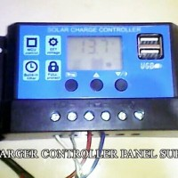 Charger Controller 10 Ampere Panel Surya Aki 12 Volt/24 Volt Dc