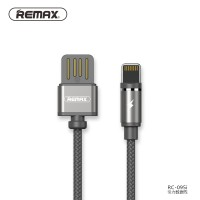 Remax Gravity Kabel Charger Magnetic Lightning Rc-095I Black