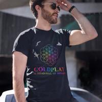 Jual ColdPlay A Head Full Of Dreams Tour Kaos Band Printed In Gildan Shirt Murah