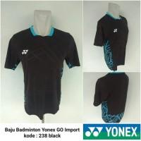 Kaos badminton bulutangkis import Yonex 238