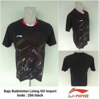 Kaos Badminton bulutangkis import Lining 286