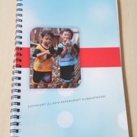 Buku Tulis Custom Foto Dengan Jilid Sp[iral