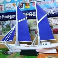 Papercraft Kapal Pinisi Panjang 70 cm
