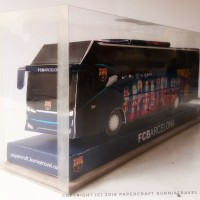 Papercraft Bus Barca (Barcelona)