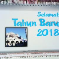Kalender Meja Tahun 2018 Tema Alam Sekitar