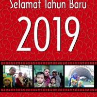Kalender Dinding Tahun 2019 Custom Foto AC 260 Gram