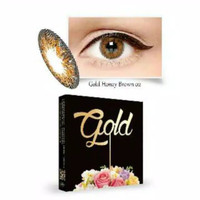 Softlens Ice Gold 02 Honey Brown